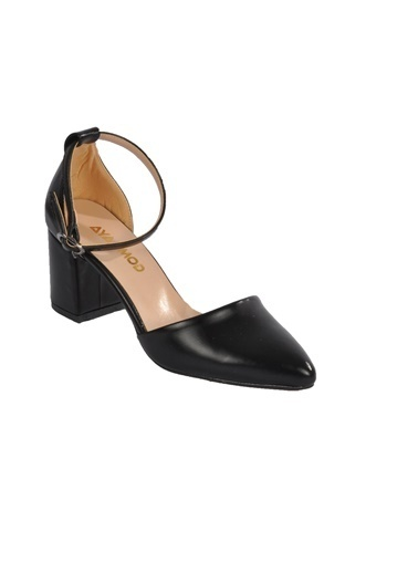 Maje 1903 Ten Kadın Topuklu Ayakkabı Siyah